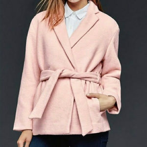 Gap Blush Pink overcoat
